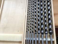 22926 Schlangenbohrer-Set 6-26mm