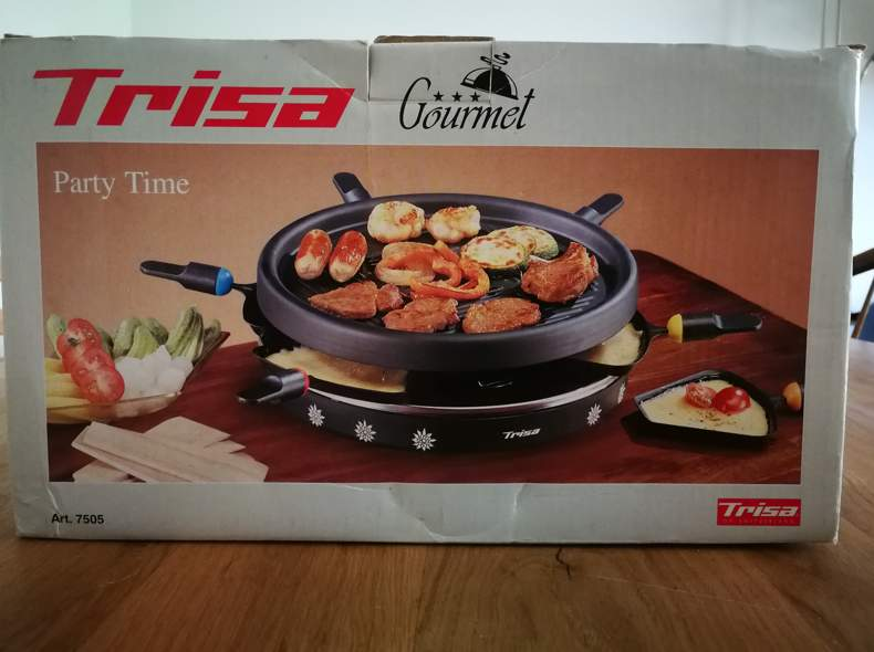 23165 Raclette Party Time 6P