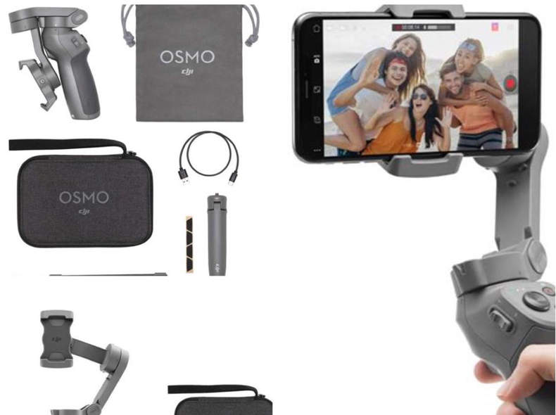 23371 DJI Osmo Mobile 3 Gimbal (Grau)