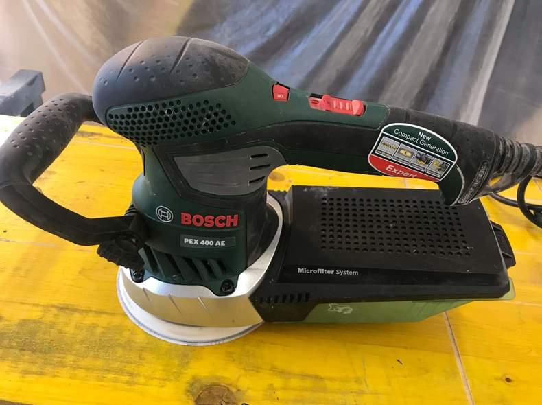 23372 Exzenterschleifer Bosch PXE 400 AE