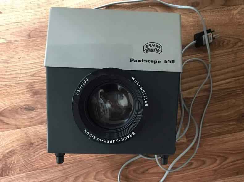 23508 Braun Paxiscope Bildprojektor 650