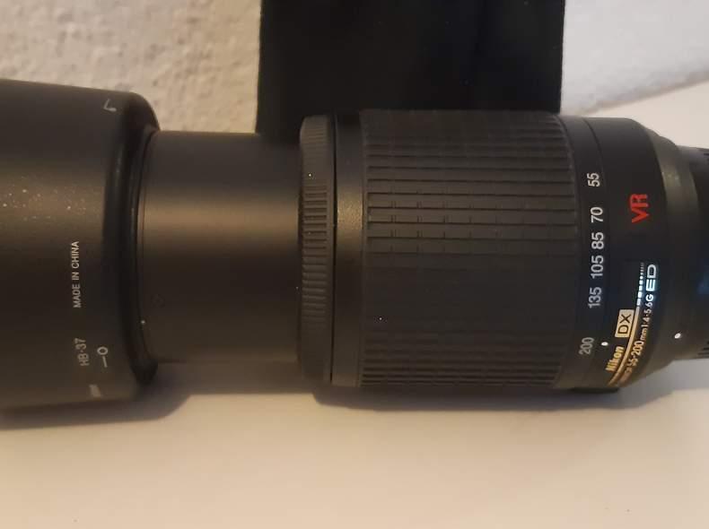 23627 Objektiv Nikon 55mm 200mm