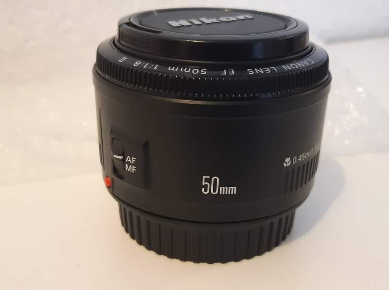 23628 Canon Objektiv 50mm f/1.8