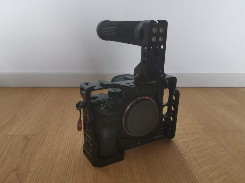 24375 Sony A7iii mit Rig