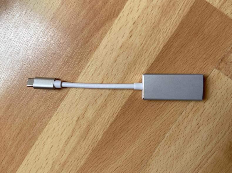 24440 USB C zu Thunderbolt 2 Adapter
