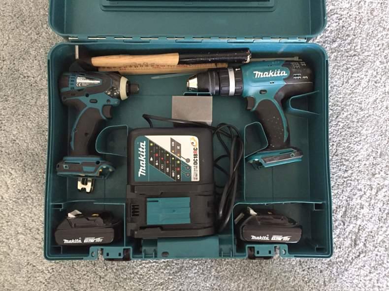 24441 Makita Bohrmaschine Set Kiste