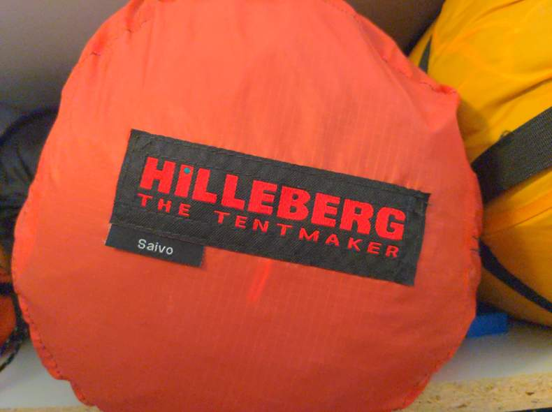 25043 Zelt Hilleberg Saivo
