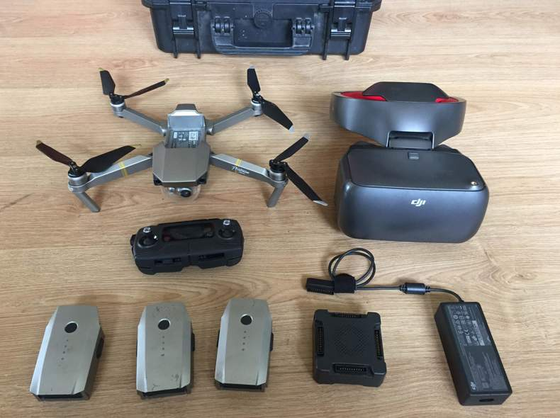 25129 DJI Mavic Pro Drohne & Videobrille