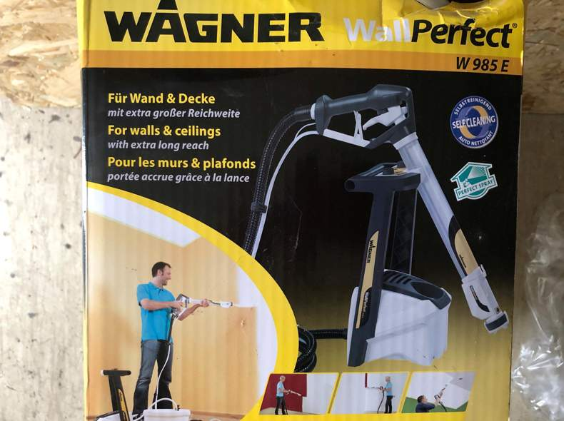25354 Wagner Sprühmaschine Wandfarbe