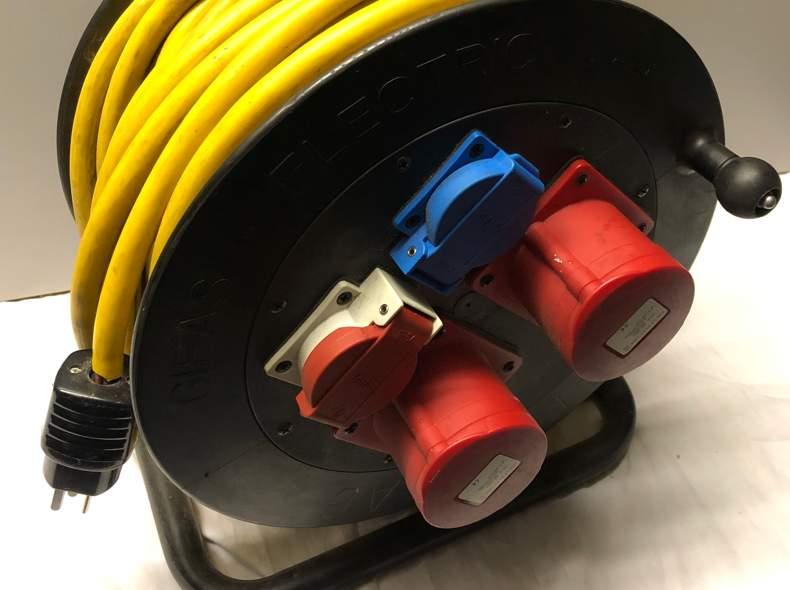 25363 400V 230V Kabel 50m