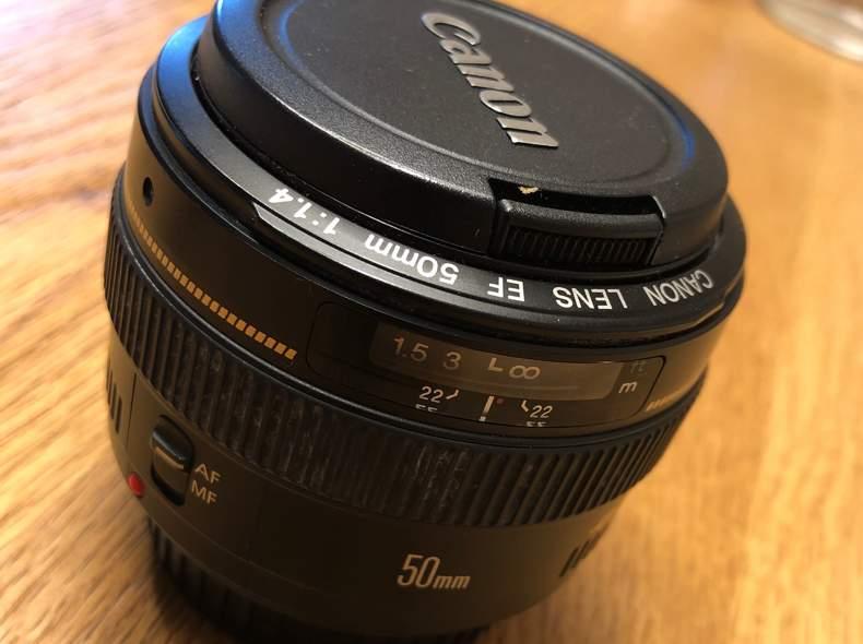 25382 Portraitobjektiv Canon 50mm