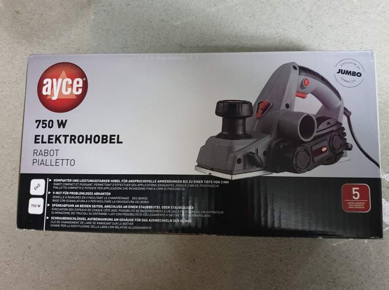 25633 Elektrohobel 750W