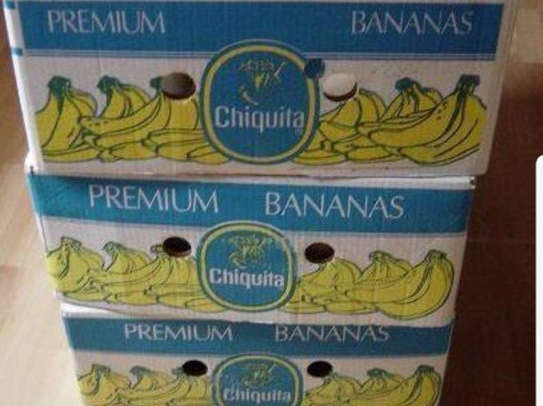 25647 Bananenschachteln