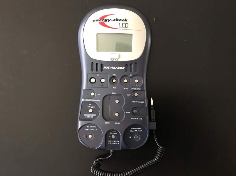 25734 Batterietester / Batterie-Testgerät