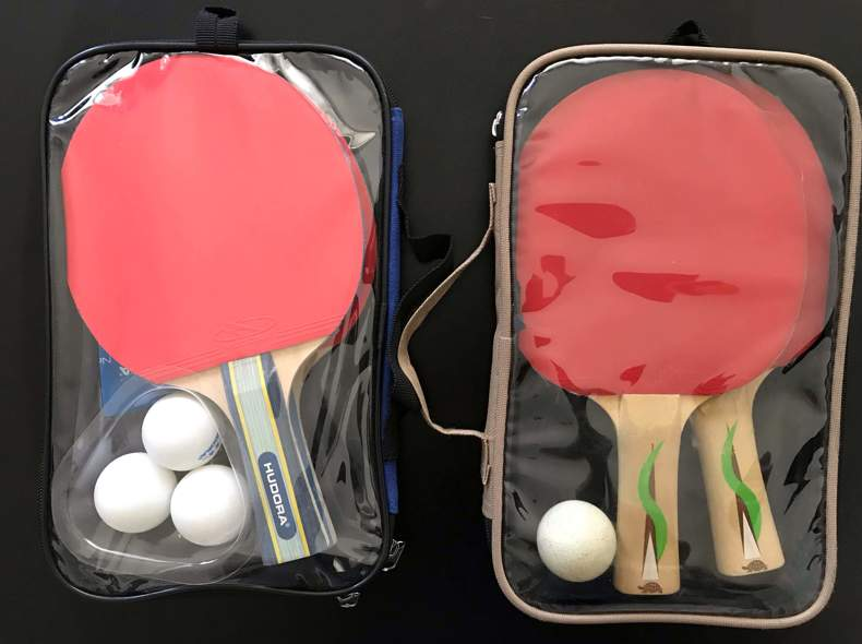 25739 4 Ping Pong Schläger (Tischtennis)