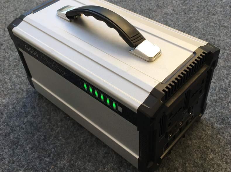 25741 Portabler Elektrogenerator 500Wh