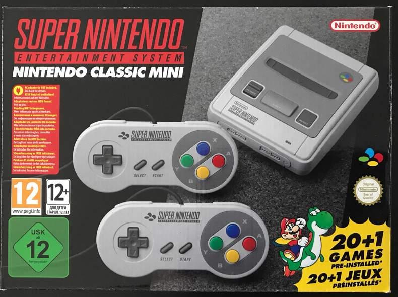 25746 Super Nintendo Classic Mini