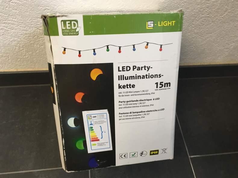 25765 LED Partylichter-Kette 15
