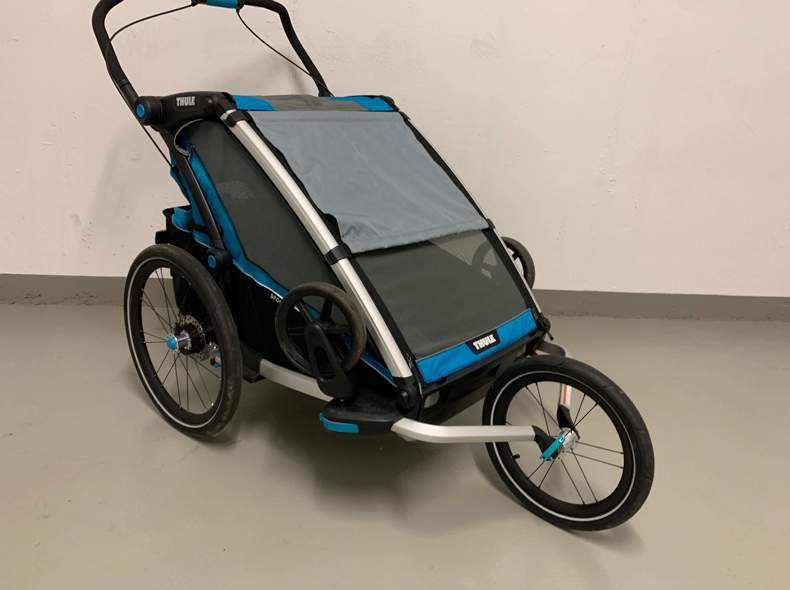 25789 Thule Chariot Sport 2 Blue/Black