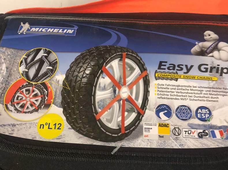 25808 Michelin Easy Grip L12 Schneeketten