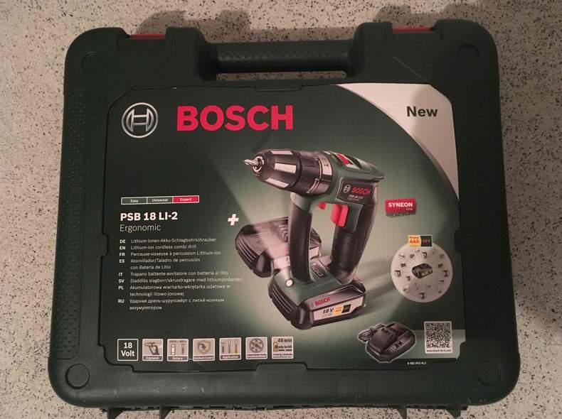 26099 Bosch Akku-Schlagbohrmaschine
