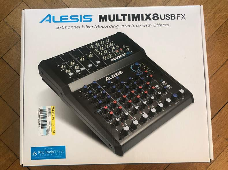 26132 Mixer mit Audiointerface