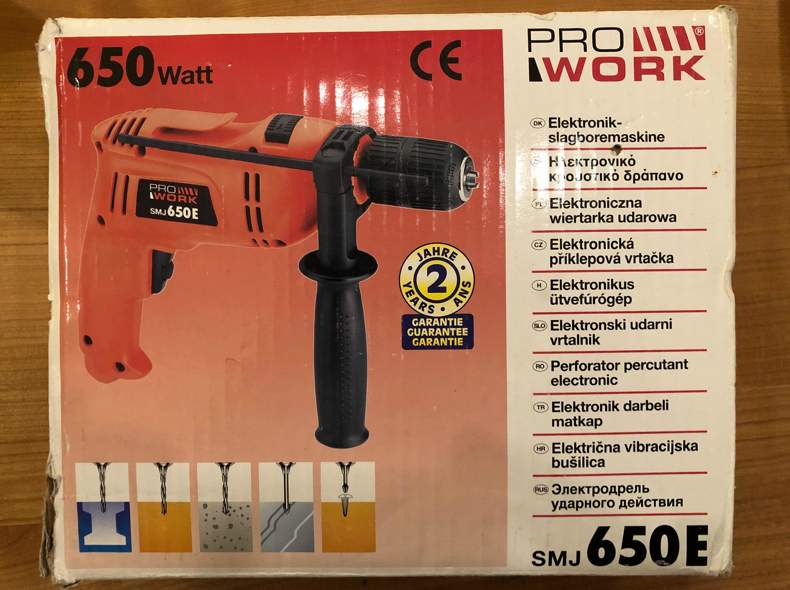 26674 Elektro-Schlagbohrer