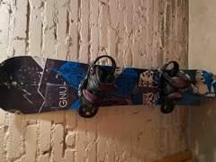 26719 Snowboard GNU 165cm wide