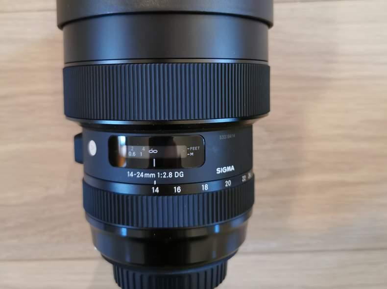 26858 SIGMA 14-24mm f / 2.8 DG HSM Art