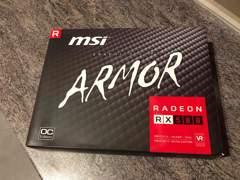 27023 MSI Radeon RX 580 ARMOR OC (8GB)