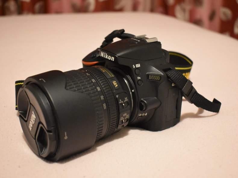 27063 Nikon d5500 mit Objektiv 18-105mm