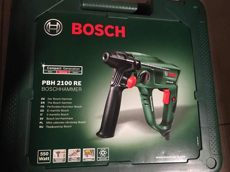 27156 Bohrhammer mit Bohrern