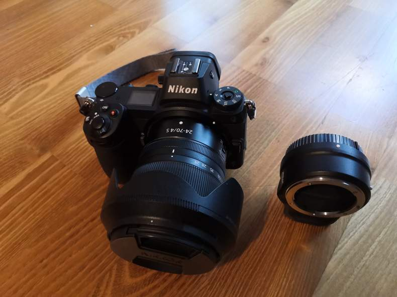 27328 Nikon Z7, 24-70 f4.0, FTZ-Adapter