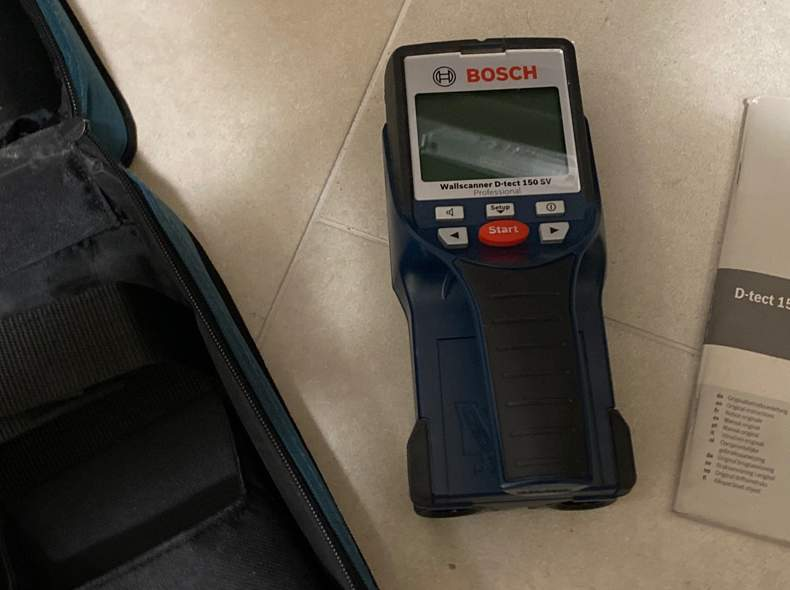 27401 BOSCH D-tect 150 SV Wallscanner