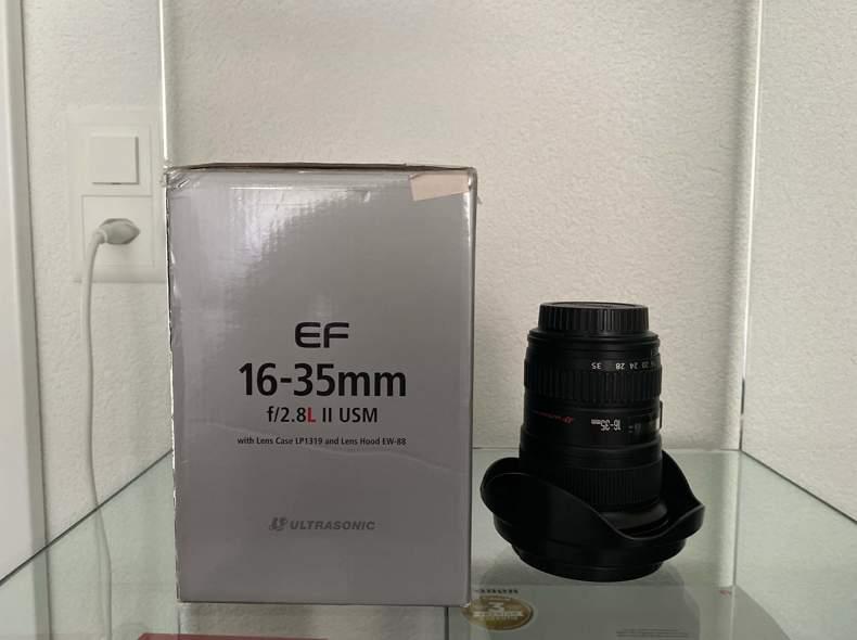 27404 Canon Objektiv EF 16-35mm f/2.8L