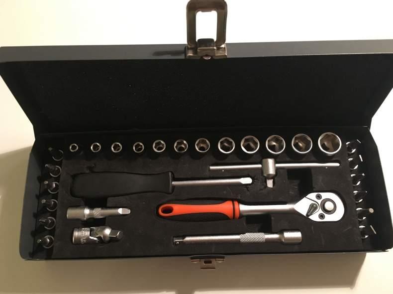 27446 Werkzeug Kit (Sechskant u. Bits)