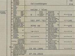27947 Zeltanhänger
