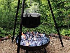 27957 Dreibein Grill mit Feuerschale