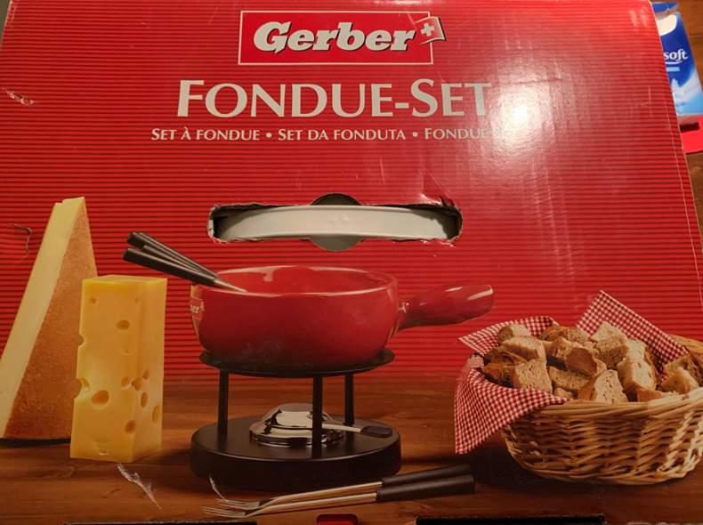28064 Käse Fondue-Set 6 Personen