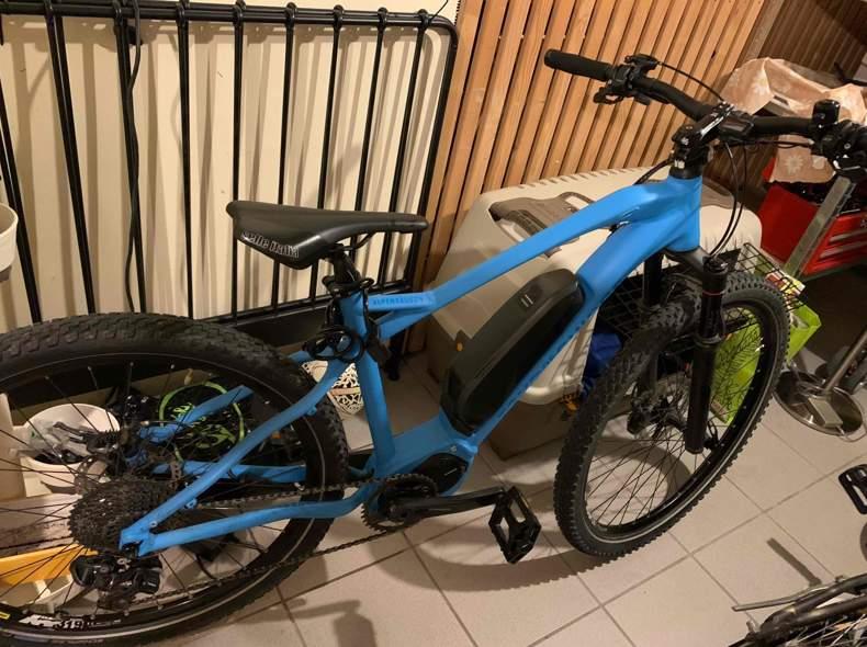 28107 E-Mountainbike 8000 Motor