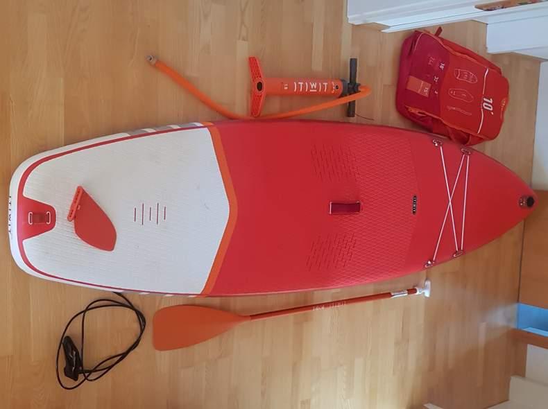 28208 Stand-Up Paddle inkl. Ausrüstung