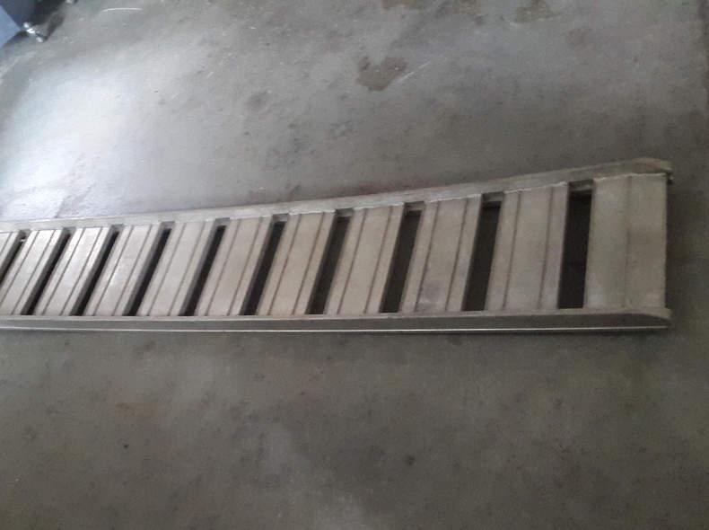 5956 Ladeleiter, Verladerampe Aluminium