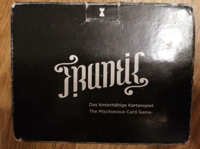 28354 Kartenspiel - Frantik