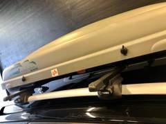 2897 Kamei Delphin 320 Dachbox + Träger