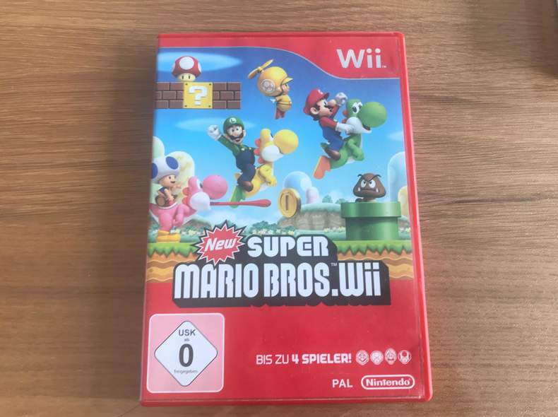 28942 Super Mario Bros - Wii Spiele