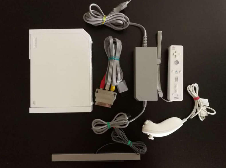 29054 Nintendo Wii mit 4 Controller