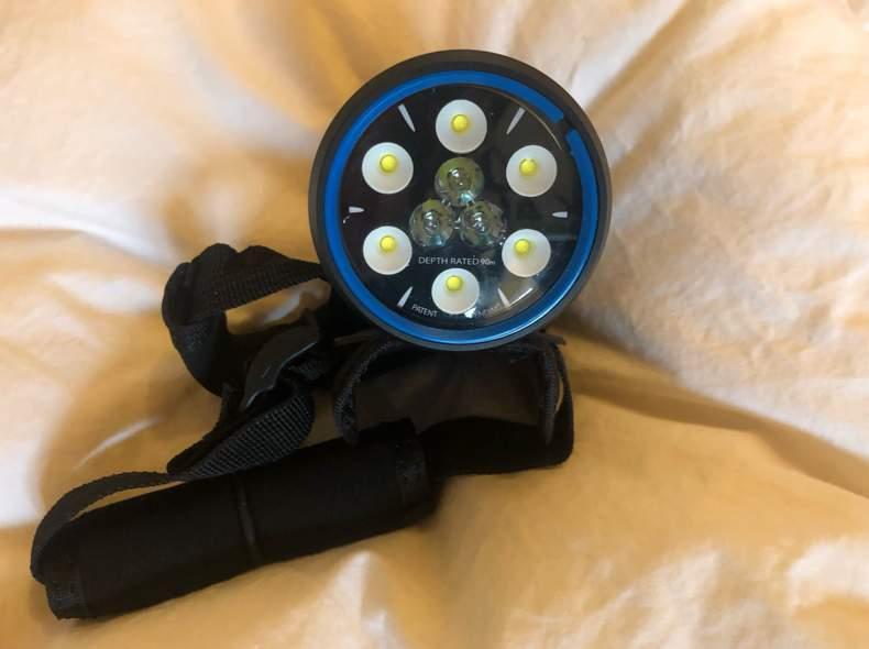 29268 Taucher Taschenlampe