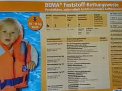 29983 Schwimmweste Baby / Kleinkind