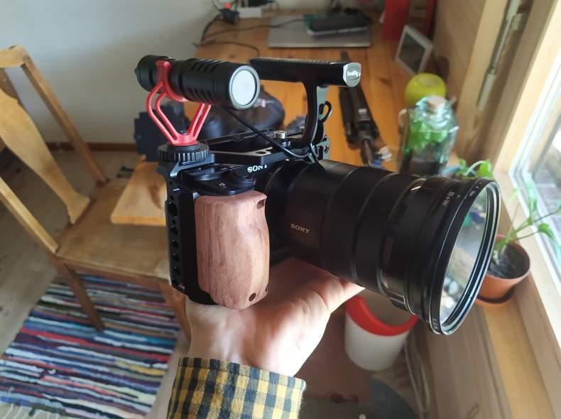 30214 Sony a6100 Rig mit 4 Objektiven