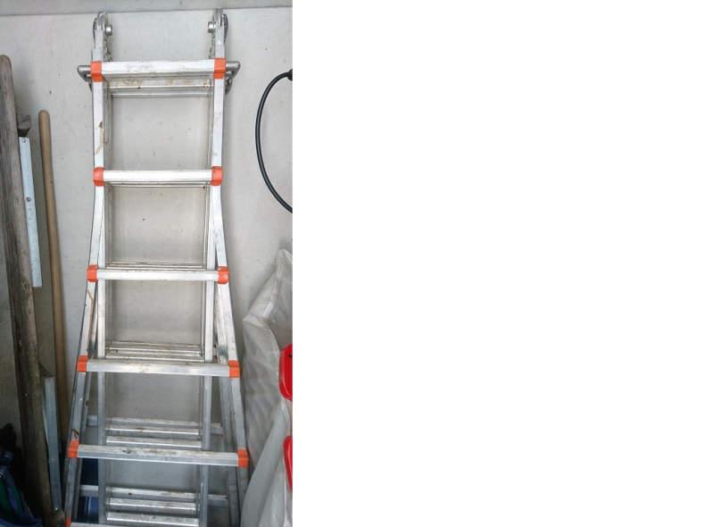 5971 Leiter Alu Aluleiter max.Länge 7,5m